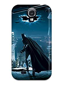 Scratch Free Phone Case For Galaxy S4 Retail Packaging The Dark Knight ()