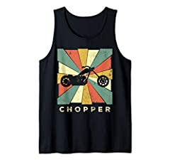 This Vintage Chopper Retro Gift Shirt makes a great gift for any cool Chopper t-shirt enthusiast. It will make a great gift for Christmas or any holiday. And will remind you of the classic retro vintage 70s and 80s times.