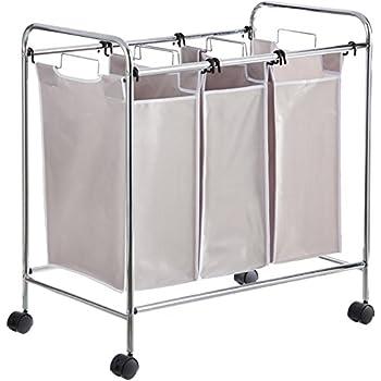 AmazonBasics 3-Bag Laundry Sorter