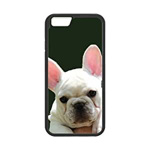 Cool Artswow iPhone 6 Plus 5.5 Inch Plastic TPU Cover Custom French Bulldog Cell Phone Case