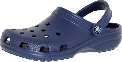 Adulto Zuecos Unisex Crocs Blau Navy Classic xTtgHq1wpY