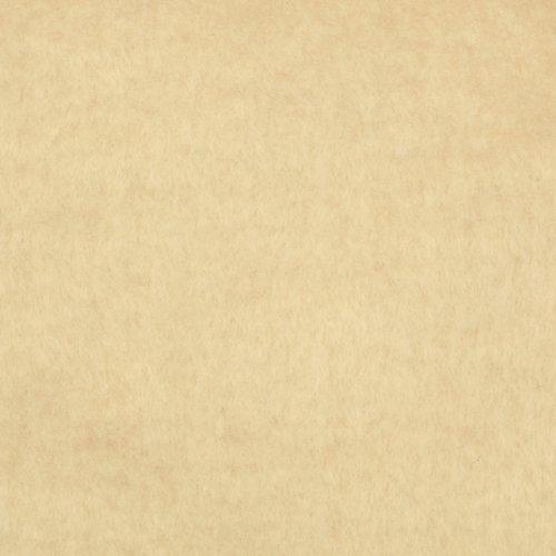 Kunin 45in Plush Felt Vanilla Fabric by The ()