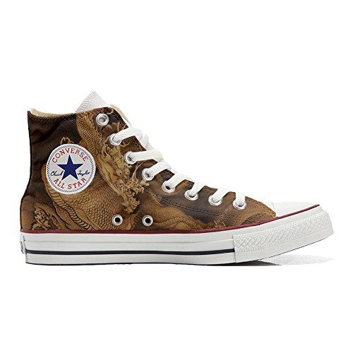 Chaussures produit avec Customized Coutume le artisanal Converse dragon P6w8qgn