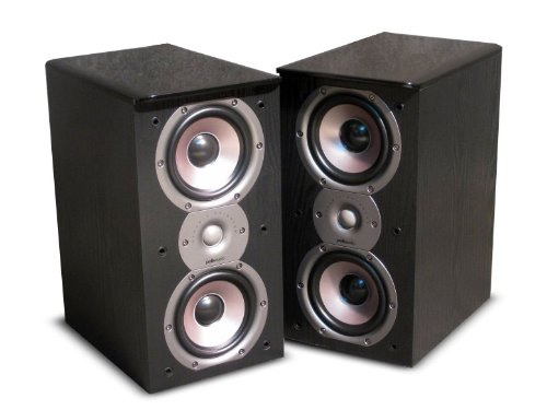 Amazon Polk Audio TSi200 Bookshelf Speakers Pair Black Home Theater