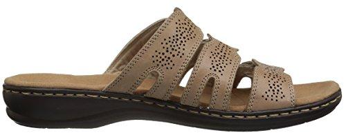 Clarks Womens Leisa Grace Platform Sand Leather