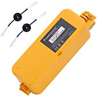Powerextra Upgraded 14.4V 3800mAh Ni-MH Replacement Battery for iRobot Roomba 400 series Roomba 400 405 410 415 416 418 4000 4100 4105 4110 4130 4150 4170 4188 4210 4220 4225 4230 4232 4260 4296