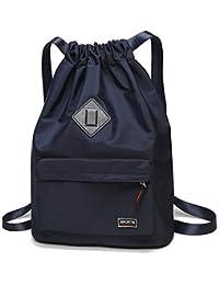 Waterproof Drawstring Sport Bag Lightweight Sackpack Backpack for Men and  Women 0d583d4196
