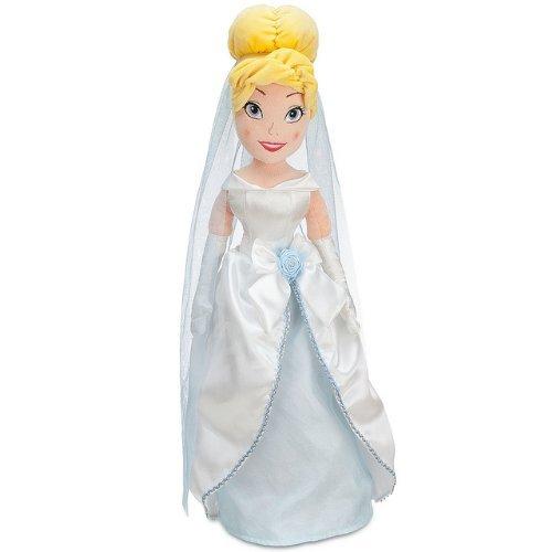 Disney Cinderella Plush Wedding Doll - 21''