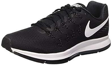 Nike Men's Air Zoom Pegasus 33, Black/White/Anthracite/Cool Grey - 6 D(M) US