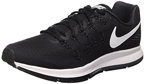 Nike Air Zoom Pegasus 33, Scarpe da Ginnastica Uomo Negro (Black / White-anthracite-cl Grey)