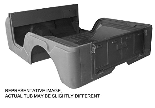 Cj5 Tub - Omix-Ada DMC-5461335 Body Tub with Jeep Script