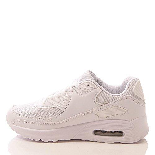 pour Baskets blanc mode femme Blanc Generic pz1Eqq