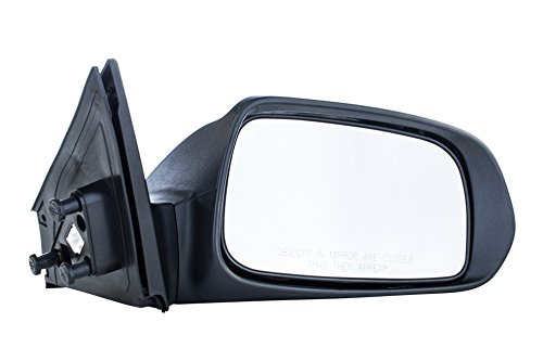 (Passenger Side Mirror for Scion tC (2005 2006 2007 2008 2009 2010) Unpainted Non-Heated Non-Folding Right Outside Rear View Replacement Door Mirror with Turn Signal Lamp)