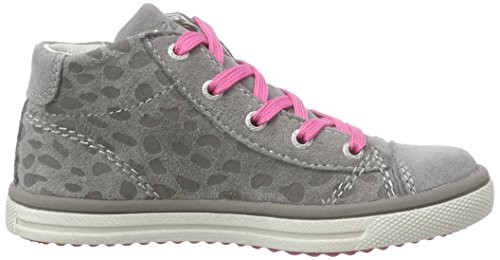Lurchi Secil - Zapatillas altas Niñas Gris - Grau (light grey 25)