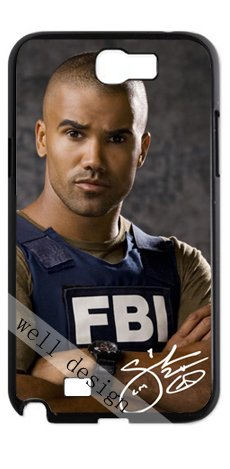 Shemar Moore Signed HD image case for Samsung Galaxy Note 2 N7100 (Restless Signed)