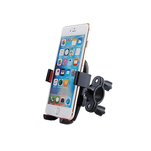 Grover Stand - Bicycle and Motorcycle Cell Phone Bike Mount Holder [Extra Secure] Handlebar Holder for all Smartphones Devices (Universal)
