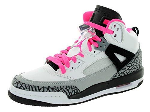 nike air jordan spizike GG hi top trainers 535712 sneakers shoes (UK 3.5 us 4Y EU 36, white hyper pink black cool grey 109)