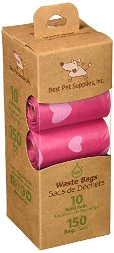 (Scented Pet Waste/Poop Bag Refills - 150 Bags by Best Pet Supplies ...)