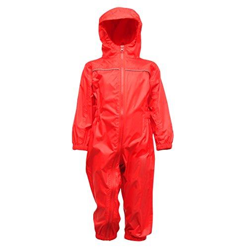 Regatta Paddle Vêtements de Pluie Enfant, Jem, 60-72 rouge classique