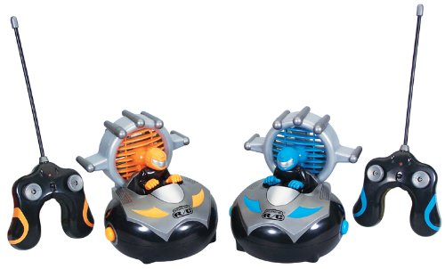 Best Kid Galaxy Remote Control Bump 'n Chuck Bumper Cars for kids