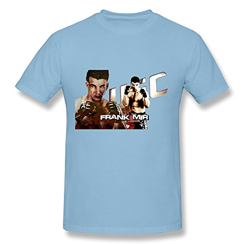 Mens Frank Mir Short Sleeve T Shirt XXL SkyBlue