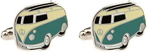Volkswagen Wohnmobil Van Manschettenknöpfe Neuheit Vw T1 Bus Kombi Hochzeit Weihnachten Manschettenknöpfe Geschenk Neu Mit Etikett Neu Bekleidung