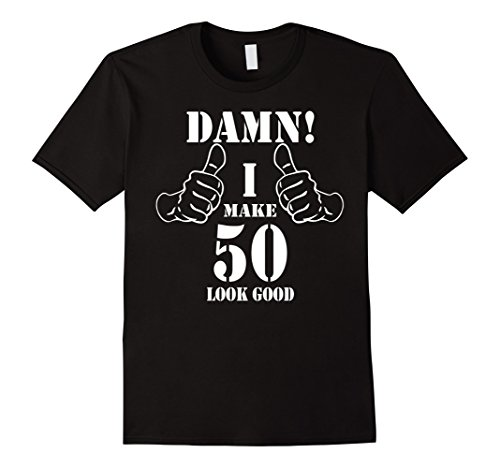 Mens 50th Birthday Vintage Made in 1968 Gift ideas Man T shirt Large Black