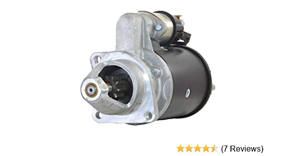 NEW STARTER MOTOR FITS INTERNATIONAL TRACTOR 474 484 584 ROW CROP UTILITY on