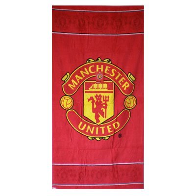 Manchester United Beach Towel by Manchester United