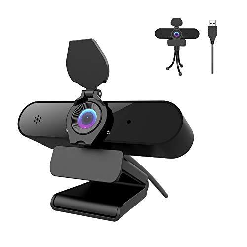 🥇 Webcam PC 2K/4MP/1440P con micrófono