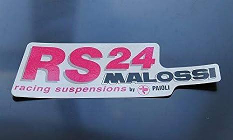 Aufkleber Malossi Rs24 140x45 Mm 1 Stück Malossi Auto