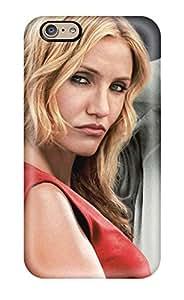 Fashion Tpu Case For Iphone 6- Bad Teacher Cast Cameron Diaz Justin Timberlake Jason Segel People Movie Defender Case Cover