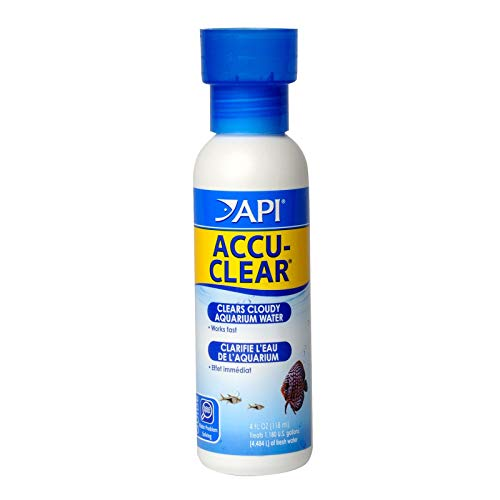 API ACCU-CLEAR Water clarifier, Clears cloudy aquarium water within several hours, Use weekly and when cloudy water is…