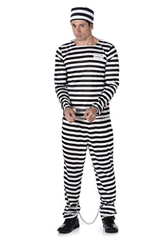 [Male Prisoner - Halloween Costume (L)] (Funny Gorilla Costume)