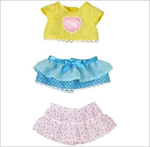 Set skirt set Kisekae Mel Chan (japan import)