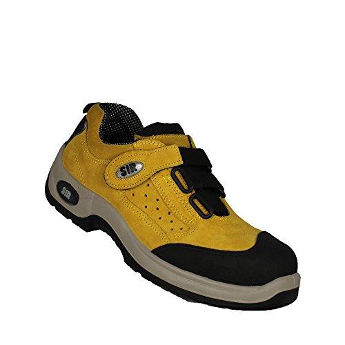 SIR Safety Systems Berufsschuhe S1P Lagerschuhe Sicherheitsschuhe flach Gelb Gelb