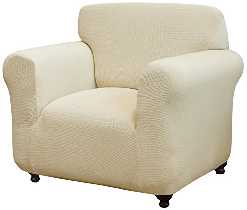 Madison DAY-CHAIR-CR Kathy Ireland Day Break Chair Slipcover,Cream by Madison (Image #1)