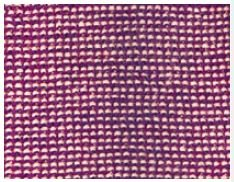 blau 80x100 cm Gr/ö/ße Disana Melange-Babydecke Wolle