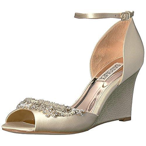 cheap Badgley Mischka Women's Malorie Wedge Sandal get discount