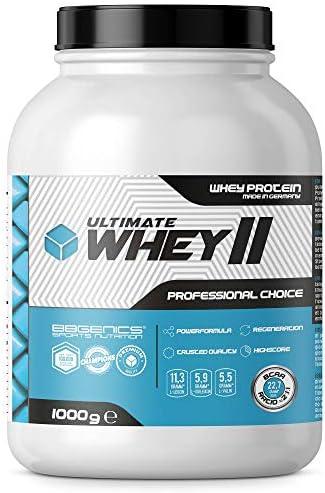 Whey Protein by BBGENICS - Ultimate Whey - 100% reines Molken Eiweißpulver, 2000g Vanille