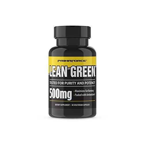 PrimaForce Green Tea Extract Supplement, 60 Count 500mg Capsules – Maximizes Fat Burning / Packed with Antioxidants