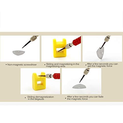 - 1PC Quick Magnetizer Demagnetizer Mini Magnetic Pick Up Tool for Screwdriver Tips Screw Bit Magnetic Repair Tool