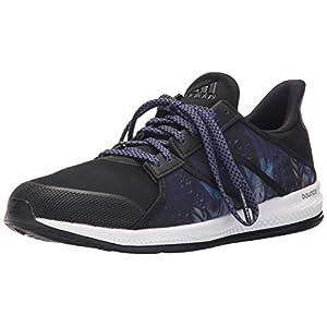 adidas Performance Women's Gymbreaker Bounce Training Shoe,Black/Night Metallic/Super Purple,7 M US
