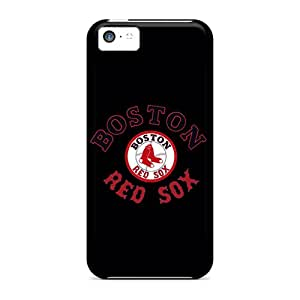 For Iphone 5c Premium Tpu Case Cover Boston Red Sox Protective Case