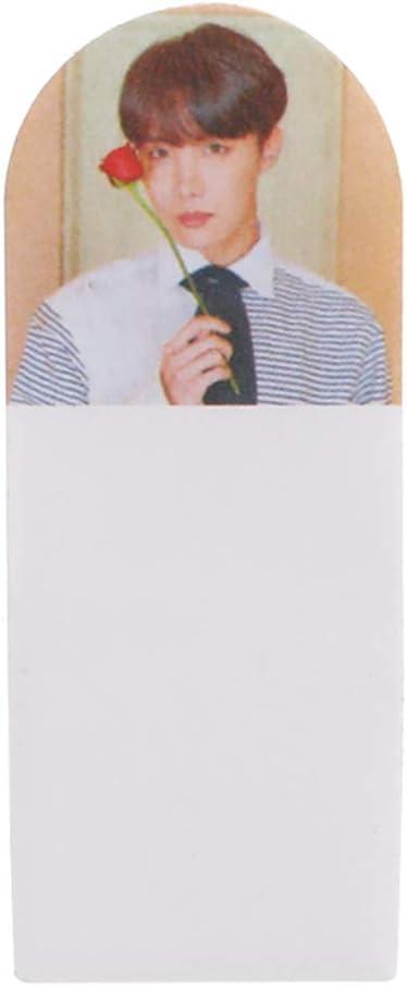 Mini Office Depot BTS Notes adh/ésives Kpop Kpop KARTE de l/âme Persona Carnet de notes autocollante pratique Papier cadeau pour A.R.M.Y Style 06