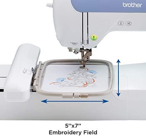Brother PE800 - Máquina de coser (talla única), color blanco: Amazon.es: Hogar