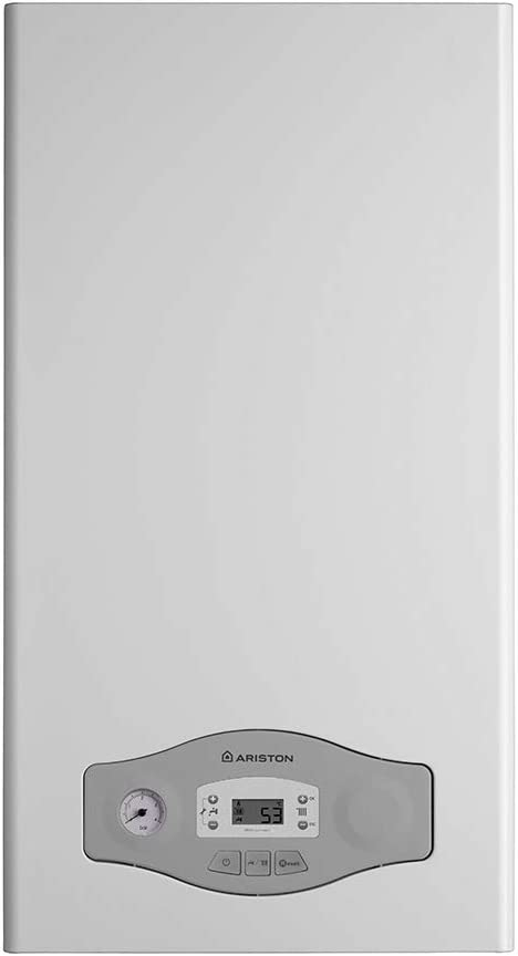 Caldera de condensación a metano de Ariston 3300712, cámara hermética conforme a la normativa EU, 24 kW