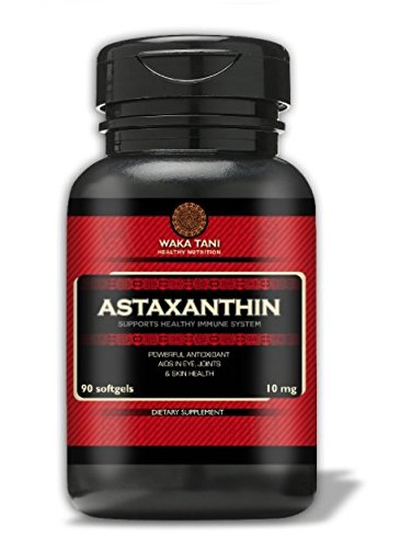 Astaxanthin, Powerful Antioxidant & Anti-inflammatory Keto Carotenoid. Supports Joints, Blood, Skin & Eye Health. One a day formula 10 mg, 90 softgels produced from microalgae Haematococcus (Carotenoid Antioxidant)
