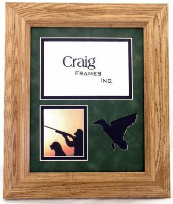 Amazon.com: 8x10 / Hunting picture frame 8x10 frame & mat with duck ...