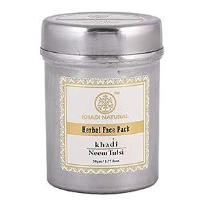Herbal Ayurvedic Face Pack (Neem & Tulsi) 50g 5